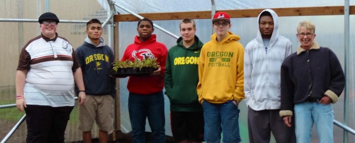 OSD Garden Program Greenhouse