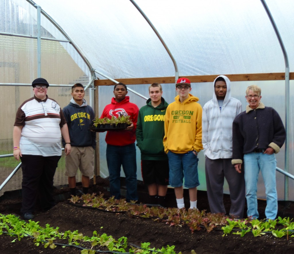 OSD Garden Program Greenhouse